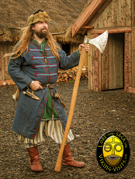 Rus Viking at Danelaw Viking Village. - Image copyrighted © Gary Waidson. All rights reserved.