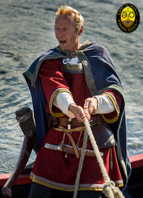 Chieftain and Steorsman of a Viking Longship - Image copyrighted © Gary Waidson. All rights reserved.
