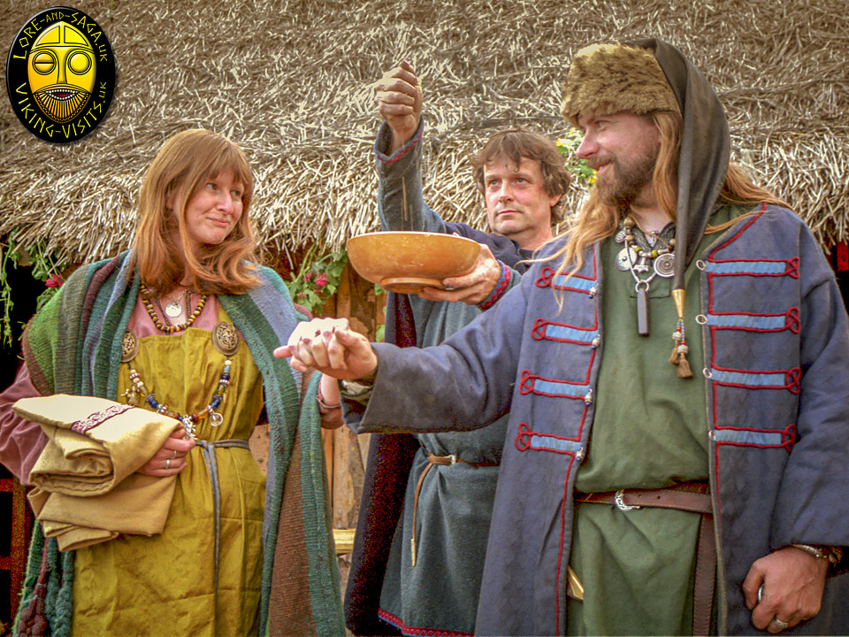 Our Viking Handfasting at Danelaw Viking Village - Image copyrighted © Gary Waidson. All rights reserved.