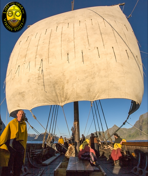 Longship in Full Sail - Image copyrighted © Gary Waidson. All rights reserved.