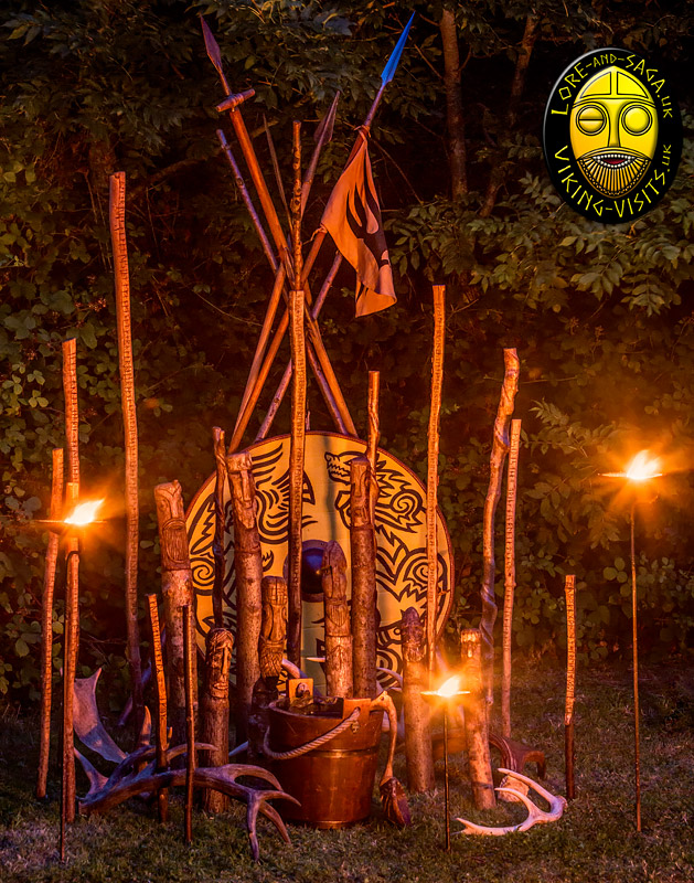 Viking Shrine. Image copyrighted © Gary Waidson. All rights reserved.